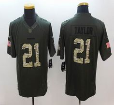... NFL Mens Washington Redskins 21 Sean Taylor Salute to Service Green  Limited Jersey ... 15b4d9b64