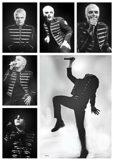 Gerard Way ~ Black Parade ~ My Chemical Romance <3