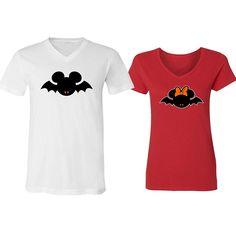 CAMALEN Hallowen Popular Design Mickey Bat Scary Unisex Pullover Hoodie Hooded Sweatshirt Black,X-Large