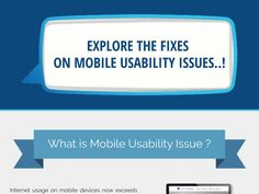 Explore The Fixes On Mobile Usability Issues..!