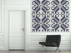 Nordic Thoughts: Zilmers' 'Nordic Antique' wallpaper