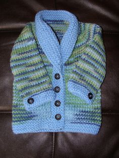 52e66ebf2 Handmade knitted sweater cardigan set for baby boy