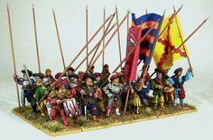 28mm Miniatures, Landsknecht, Miniture Things, Renaissance, Medieval, Empire, Painting, Fantasy, Inspiration