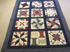 QIAD Sampler quilt made by Sharon Theriault