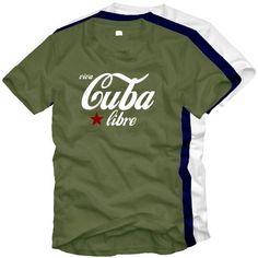 Viva CUBA libre   T Shirt / Original Kult Shirt: .de: Sport