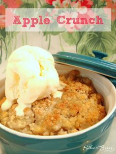 Silver Boxes: It's Apple Season - Make some Apple Crunch!  ☀CQ #apple #recipes. Thank you for sharing! ¯\_(ツ)_/¯