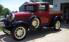 1930 Ford Model A Closed Cab Pickup