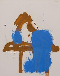 Robert Motherwell. - I love these colors together