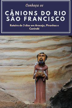 Um roteiro imperdível de 3 dias saindo de Aracaju e conhecendo as belezas dos Cânions do Rio São Francisco em Alagoas e Sergipe.