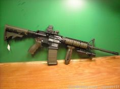 spikes tactical AR-15...he loves this