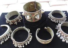Wholesale Lot of 7 Vintage Kuchi Bracelets by 7SISTERStradingco, $62.50