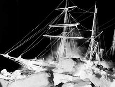 Seized in the grip of the Weddell Sea pack ice, the Endurance enters her seventh month of captivity in August 1915. (Photo: Frank Hurley. Courtesy of The Macklin Collection) The Shackelton Expedition to Antarctica, 1914-1916
