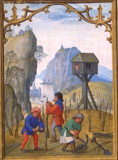 Simon Bening - February - Da Costa Hours - c.1515