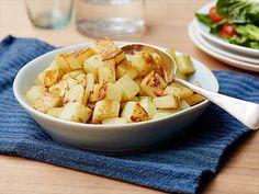 Crispy Potatoes : The secret to Perfect Crispy Potatoes is giving them a slight steam bath.