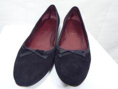 Prada Black Suede flats Size EUR 36 US 6 shoes