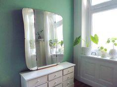 Riesiger Vintage Klappspiegel Spiegel 40er 50er von ILoveSparrows auf DaWanda.com