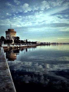 My hometown Thessaloniki, Macedonia Greece Places Around The World, Oh The Places You'll Go, Places To Travel, Places To Visit, Around The Worlds, Pays Europe, Wonderful Places, Beautiful Places, Macedonia Greece