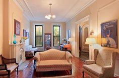 brooklyn brownstone interior parlor