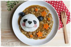 i would love to be served a meal that looked as cute as this...