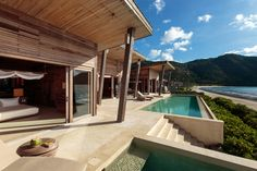 Three large bedrooms are a perfect place to stay - Six Senses Con Dao, #Vietnam