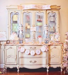 Nutcracker Ballet Inspired Holiday (Sugar Plum Shoppe) - Darling Nutcracker theme party!