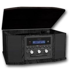 Turntable, Cassette, Radio, CD Recorder (TEAC-GF-550USB) - by Teac. $323.99. - Teac USB turntable- Supports CD-R/RW Recording (Phono to CD, tape to CD, Tuner to CD, AUX to CD)- Drawer-type CD Recorder- Auto/Manual Track Increment- Rec Level Control and Rec Level Indicator- Repeat (1/ALL), Shuffle, 32-track Program Play- 3-speed Turntable (33-1/3, 45, 78rpm)- Auto Return- Cassette Tape Player- Play, Pause, FWD, REW Operation- PLL Synthesized AM/FM Stereo Tuner- Rotary Volume C...