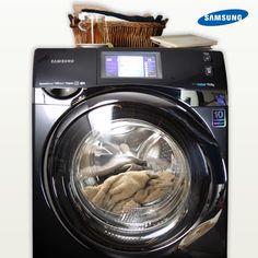 La línea de lavadoras #Samsung tiene la mejor tecnología para quitar las manchas más desagradables.