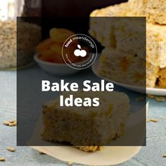 Bake sale ideas: easy bake sale ideas, bake sale ideas for kids, healthy bake sale ideas, bake sale treats, bake sale recipes, bake sale ideas for fundraising, bake sale packaging and much more! Bake Sale Treats, Bake Sale Recipes, Bake Sale Packaging, Create A Recipe, Real Food Recipes, Fundraising, Healthy Eating, Baking, Easy