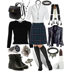 The Craft by stephaniegrace on Polyvore featuring L.K.Bennett, Jil Sander, Balmain, D&G, Falke, Kate Spade, Juicy Couture, Dolce&Gabbana, Anthology and Wolverine