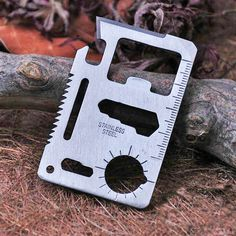 Jeslon Multi Tools 11 in 1 Multifunction Outdoor Hunting Survival Camping Pocket Military Credit Card Knife With Bottle Opener Survival Multi Tool, Survival Tools, Survival Knife, Tactical Survival, Camping Tools, Camping Survival, Camping Equipment, Outdoor Survival, Outdoor Camping