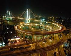 Nanpu Bridge Interchange, Shanghai, China