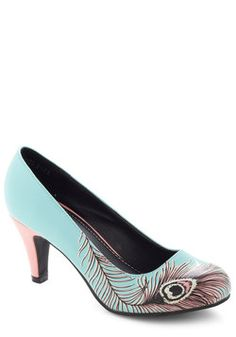 LOVE THEM>>>>Proudly Posh Pump in Mint, #ModCloth