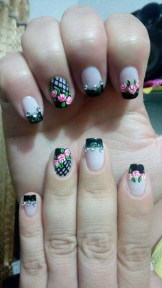 Spring Nails, Summer Nails, Natural Acrylic Nails, New Nail Art, Prom Nails, Manicure And Pedicure, Finger, Nail Designs, Nail Polish