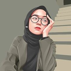 Fiverr freelancer will provide Portraits & Caricatures services and draw realistic , vector portrait illustration from your photo a birthday gift including Figures within 5 days Illustration Vector, Portrait Illustration, Vector Art, Caricature, Portrait Vector, Cartoon Girl Images, Islamic Cartoon, Anime Muslim, Hijab Cartoon