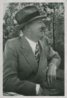 Adolf Hitler Smiling