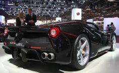 Ferrari LaFerrari Aperta  936 bhp 663 lb-ft 217 mph 0 - 62 mph 2.9  Photograph @motor1com