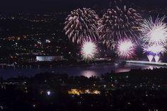 Canberra Times readers Summer photocomp 2014- Vijay Koul - Australia day fireworks.