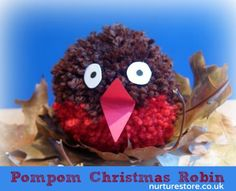 What a sweet little robin! So easy to make too.