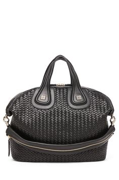 9e364ffd1e8f Shop for Givenchy Medium Woven Nightingale in Black at FWRD.