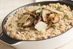 Rice Cooker mushroom risotto by Wolfgang Puck