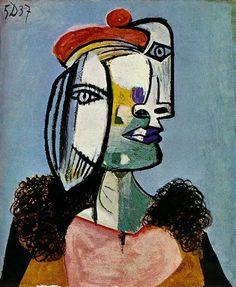 Pablo Picasso. Portrait de femme1. 1937 year