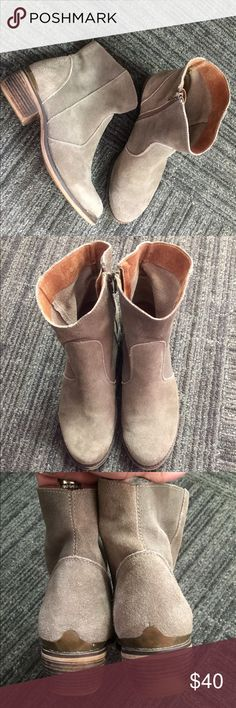 """MTNG Original Booties This are the MTNG Originals """"Molly Ankle Suede"""" this booties are pretty #trendy for the up coming fall. *SOLD OUT* in stores THIS PRICE is Firm.. Unless you have Ⓜ️ercari. I offer a cheaper price there. Anthropologie Shoes Ankle Boots & Booties"""