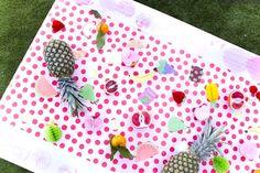 Fruit stamp table fr