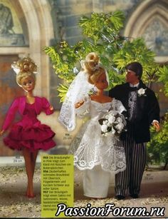 Sewing Doll Clothes, Doll Clothes Barbie, Sewing Dolls, Doll Clothes Patterns, Doll Patterns, Clothing Patterns, Barbie Doll, Crochet Clothes, Barbie Wedding Dress