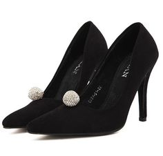 Black Pumps | Elegant Style Hollow Out Thin Heels Pumps On Ushoes2014