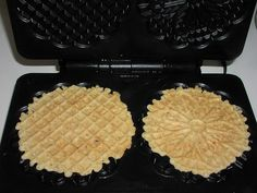 Yummy!    The recipe can be found here: rhosgobel.blogspot.com/2006/09/almond-pizzelles.html     New Recipe Search Tool help mother to find ideas for cooking   http://thisabout.com/story-39