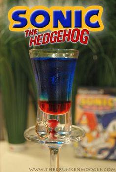 Sonic the Hedgehog drink