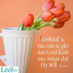 Goeie Nag, Goeie More, Afrikaans Quotes, Soul Food, Blessings, Van, Inspirational, Vans, Inspiration