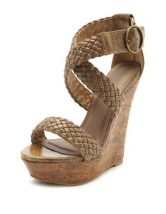 Great neutral wedge! #shoes