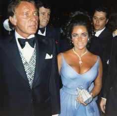 Richard Burton and Liz Taylor